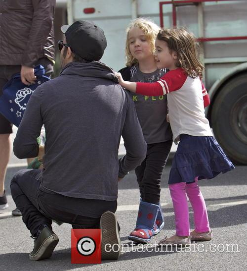 Pete Wentz and Bronx Wentz 9