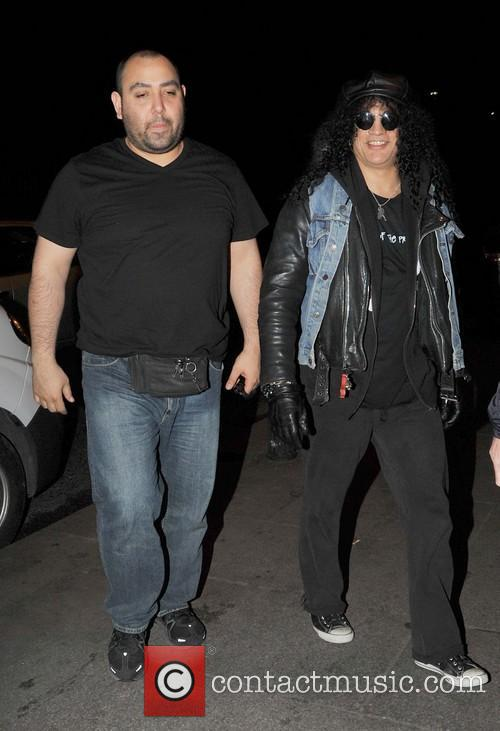 Slash and Saul Hudson 1