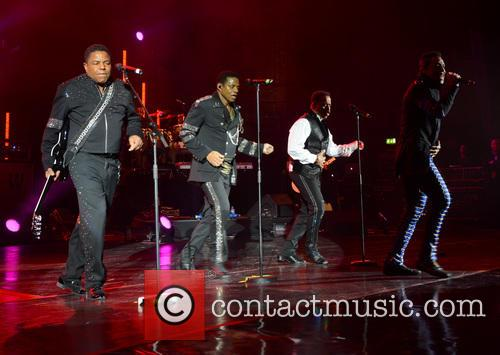 The Jacksons perform at Hammersmith Apollo