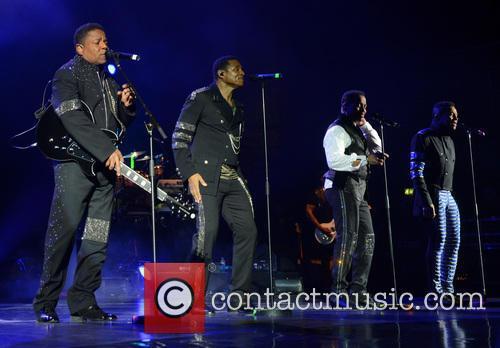 Tito Jackson, Jackie Jackson, Marlon Jackson and Jermaine Jackson 6