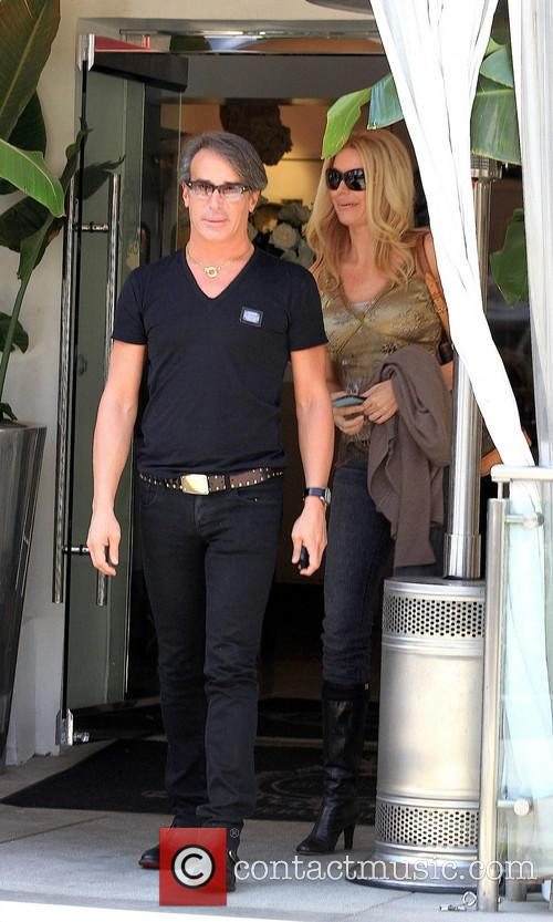 Lloyd Klein and Jessica McClain go for lunch...