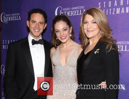 Santino Fontana, Laura Osnes and Victoria Clark 2