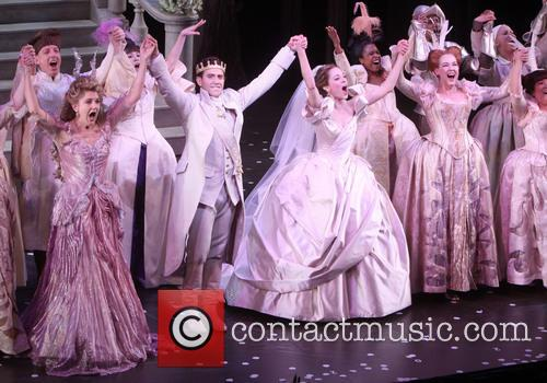 Victoria Clark, Santino Fontana, Laura Osnes, Harriet Harris and Cast 2