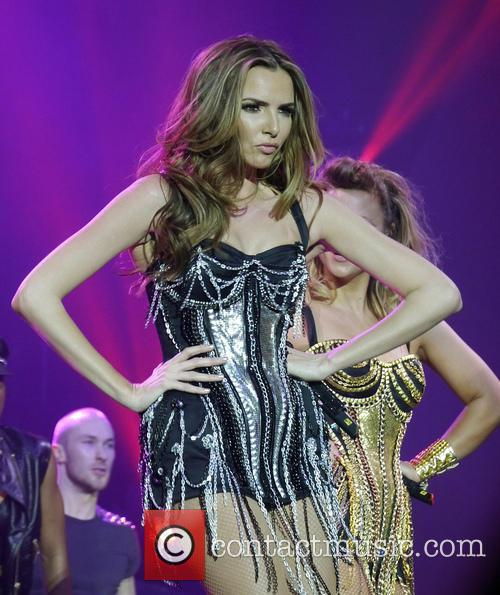 Girls Aloud performing on their final night