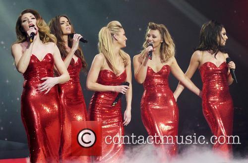 Nicola Roberts, Nadine Coyle, Sarah Harding, Kimberley Walsh and Cheryl Cole 2