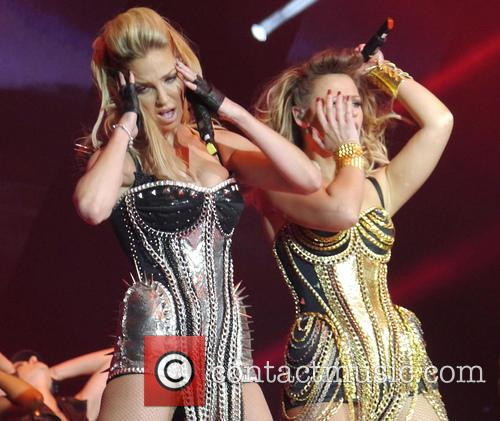 Sarah Harding and Kimberley Walsh 8