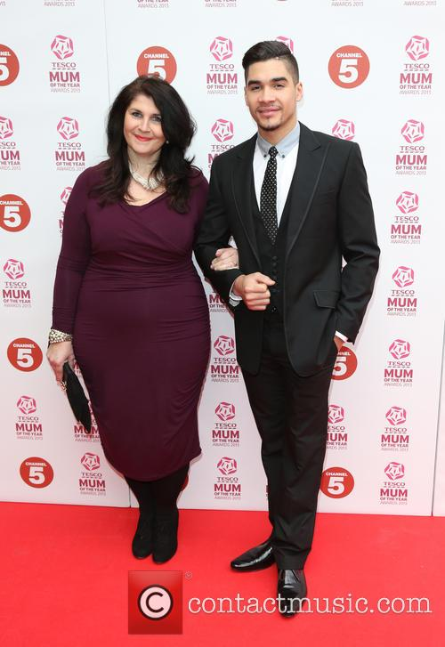 Louis Smith With His Mum Elaine Petch 7