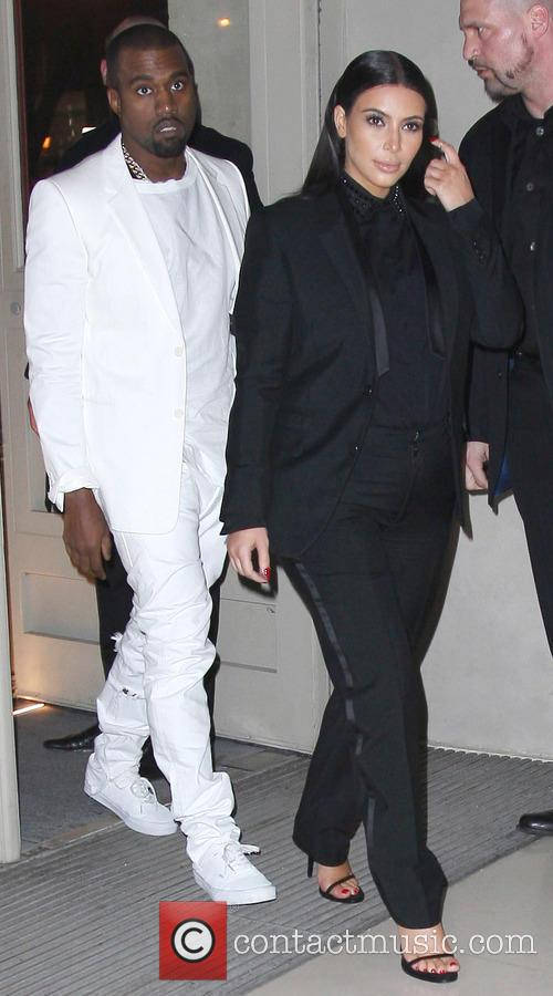 Kanye West and Kim Kardashian 8