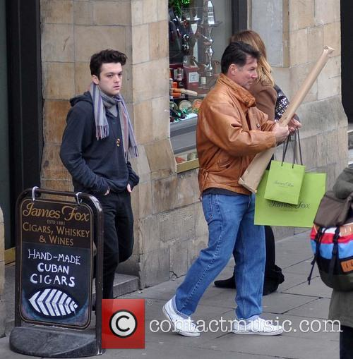 Charlie Sheen spotted on Grafton street