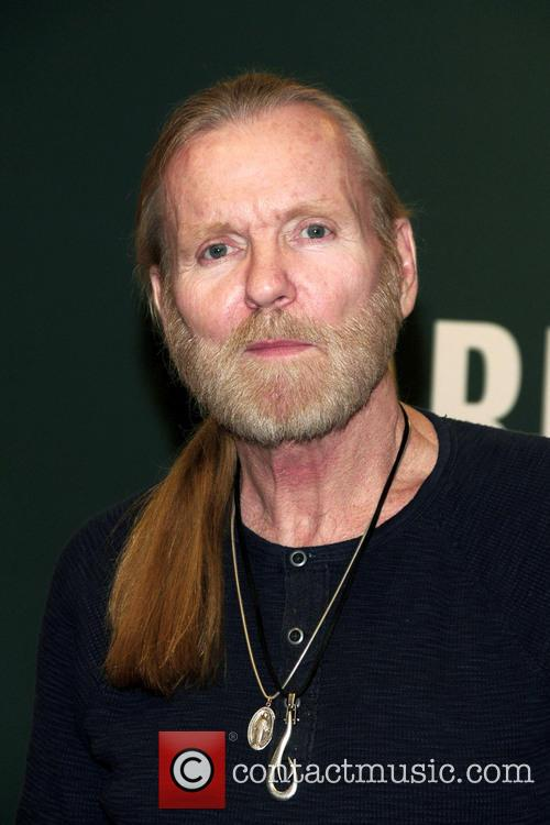 Rock and Roll Hall of Famer Gregg Allman...