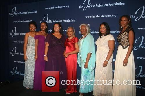 Ayo, Meta Robinson, Rachel Robinson, Susan Thomas, Sharon Robinson and Sonya Panky