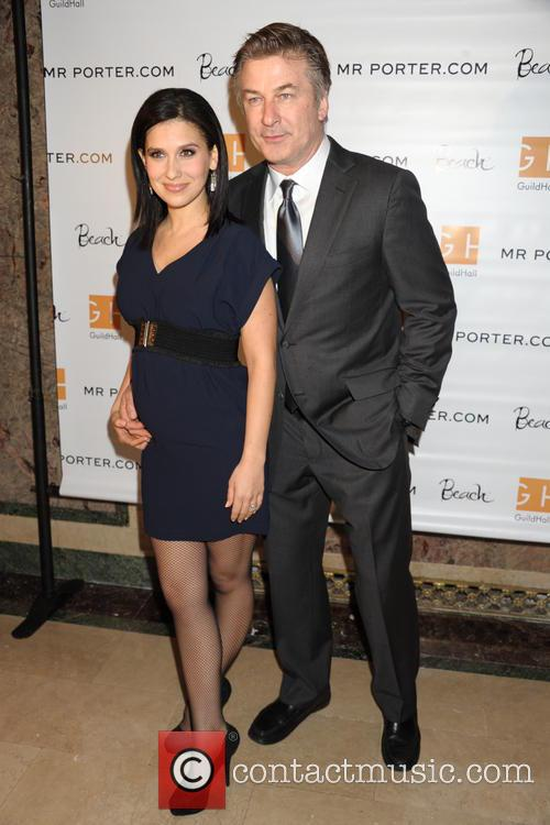 Hilaria and Alec Baldwin at 28th Academy of the Arts Lifetime Achievment Awards