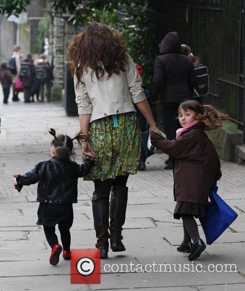 Myleene Klass, Hero Quinn and Ava Quinn 5