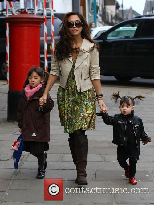 Myleene Klass, Hero Quinn and Ava Quinn 10