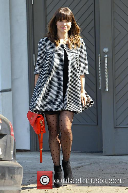 Sophia Bush is seen leaving a hair salon...
