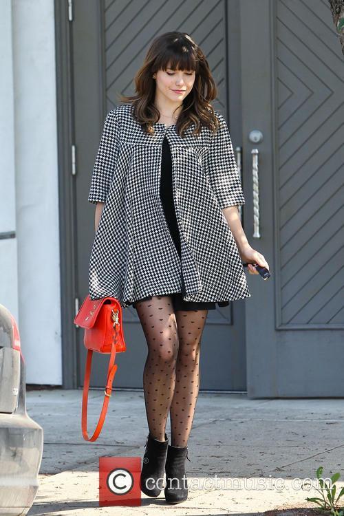 Sophia Bush is seen leaving a hair salon in a stylish outfit