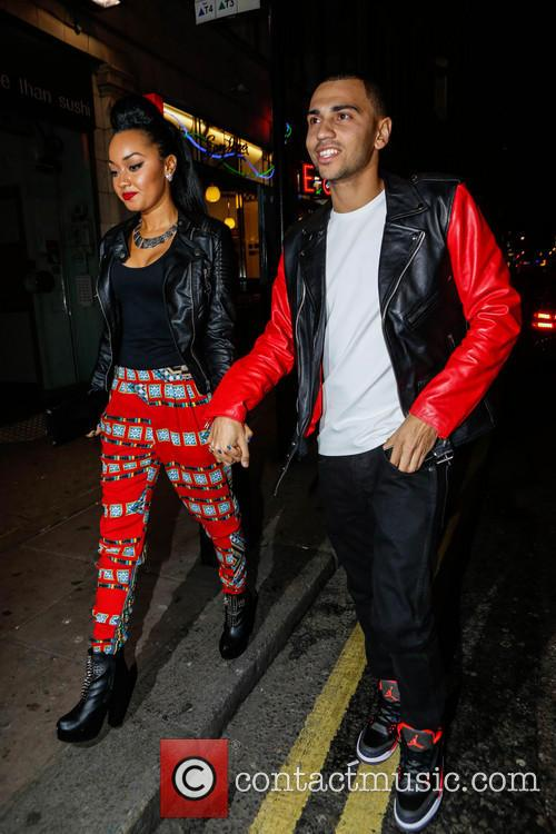 Leigh-ann Pinnock and Jordan Kiffin 1