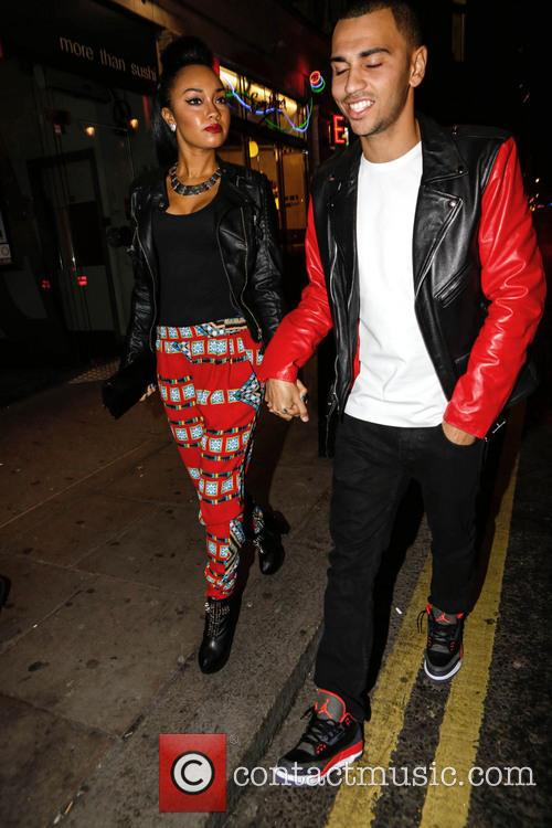 Leigh-ann Pinnock and Jordan Kiffin 2