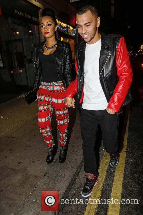 Leigh-ann Pinnock and Jordan Kiffin 5