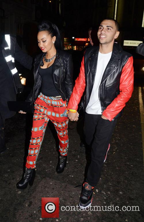 Leigh-ann Pinnock and Jordan Kiffin 6