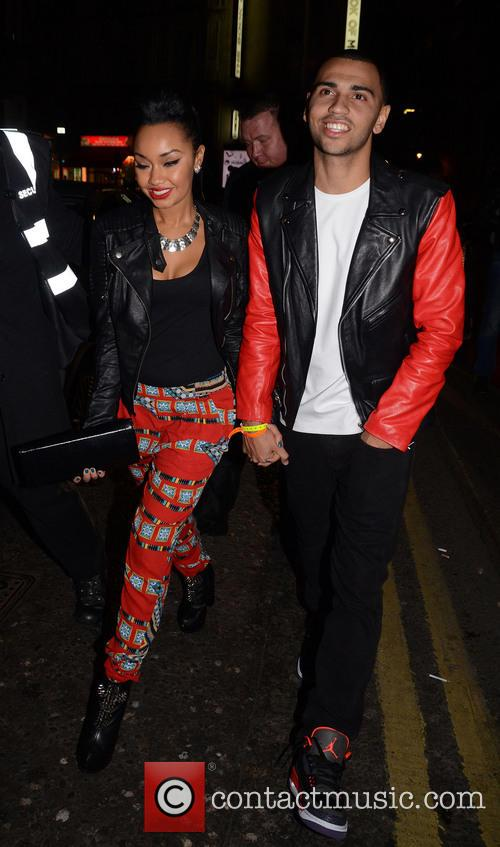 leigh ann pinnock jordan kiffin celebrities outside dstrkt nightclub 3539496