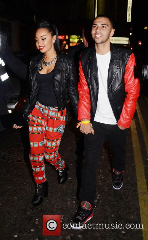 Leigh-ann Pinnock and Jordan Kiffin 8