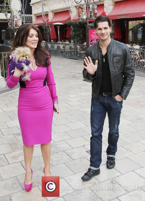 Lisa Vanderpump, Dog Giggy and Gleb Savchenko 4