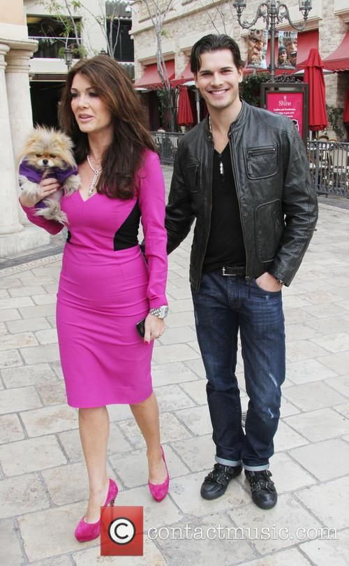 Lisa Vanderpump, Dog Giggy and Gleb Savchenko 11