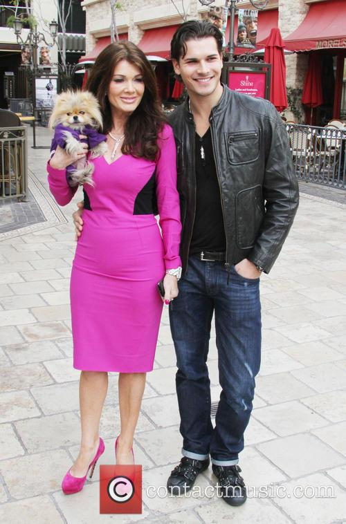 lisa vanderpump dog giggy gleb savchenko celebrities at the 3539599
