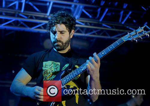 yannis philippakis foals performing at liverpool o2 3539154