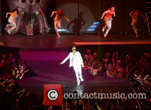 Justin Bieber Performing Live In Concert