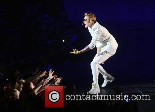 Justin Bieber live at the O2