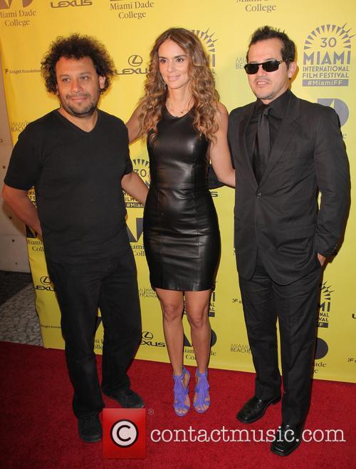 Harold Trompetero, Karen Martinez and John Leguizamo 2