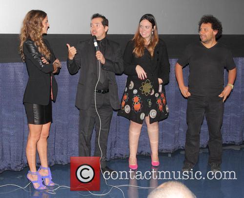 Harold Trompetero, Karen Martinez and John Leguizamo 1