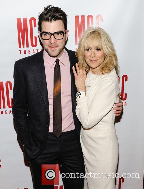 Zachary Quinto and Judith Light 2