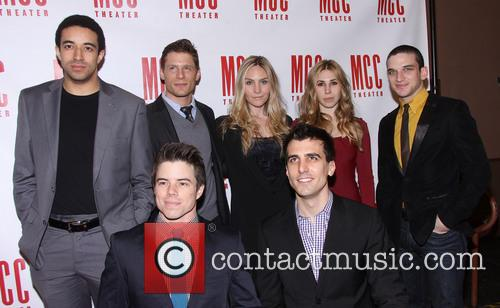 Kobi Libii, Matt Lauria, Aleque Reid, Zosia Mamet, Evan Jonigkeit, David Hull and Paul Downs Colaizzo 4
