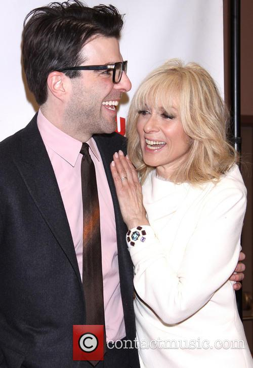 Zachary Quinto and Judith Light 4