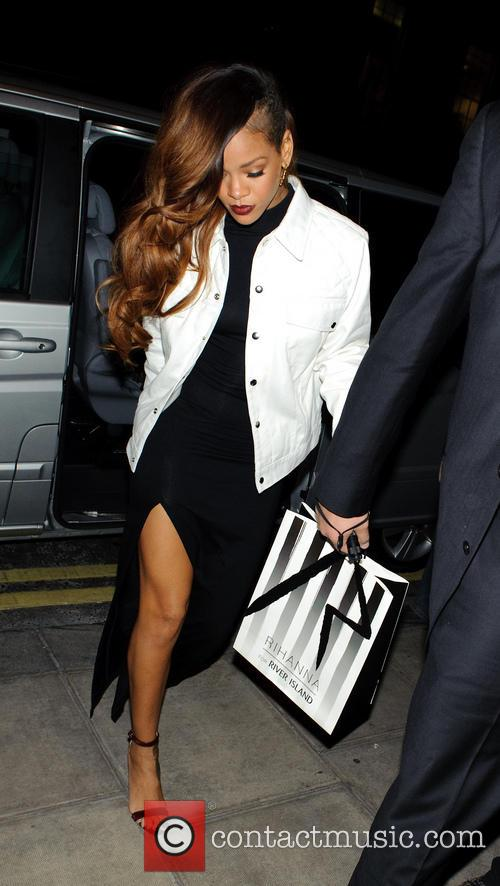 Rihanna Returns From River Island