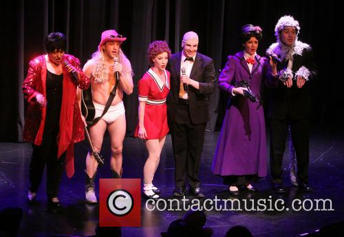 The Cast Of Forbidden Broadway 8