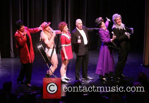 The cast of Forbidden Broadway 12