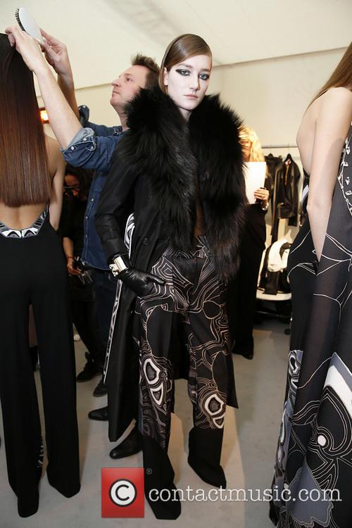 Paris Fashion Week, Leonard and Backstage 6