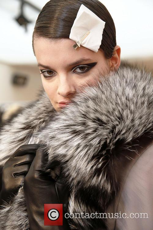 Paris Fashion Week, Leonard and Backstage 8