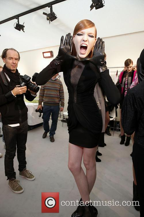 Paris Fashion Week, Leonard and Backstage 10