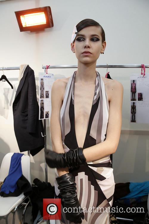 Paris Fashion Week, Leonard and Backstage 11