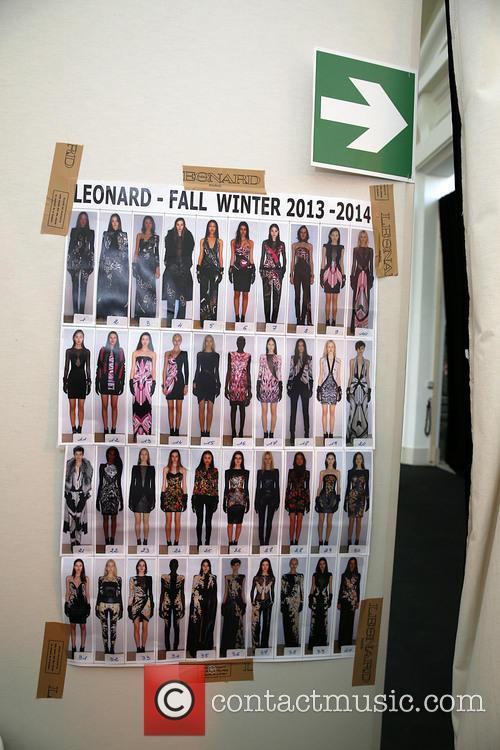 Paris Fashion Week, Leonard and Backstage 12