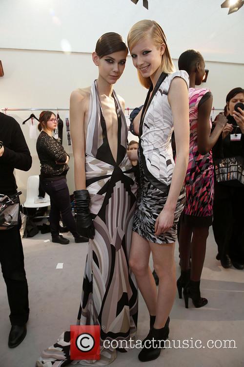 Paris Fashion Week, Leonard and Backstage 14