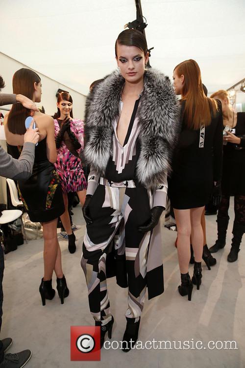 Paris Fashion Week, Leonard and Backstage 16