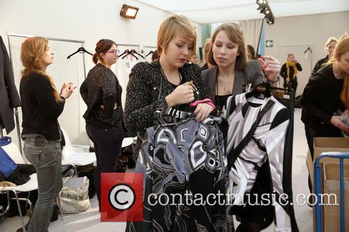 Paris Fashion Week, Leonard and Backstage 18