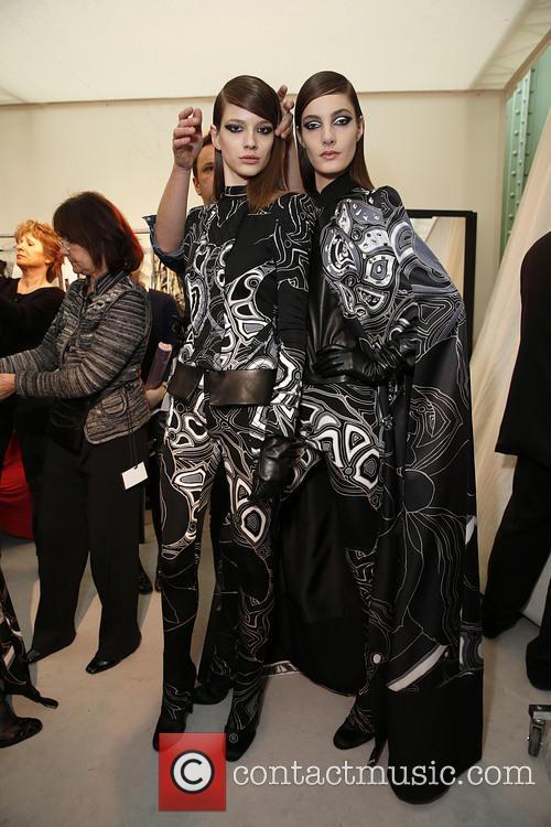 Paris Fashion Week, Leonard and Backstage 21