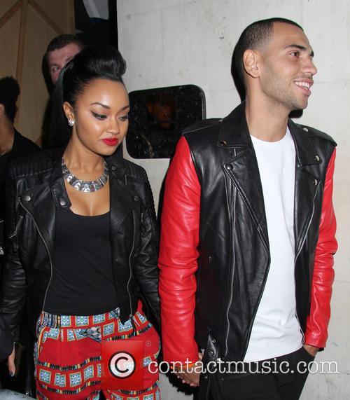 Celebrities outside DSTRKT nightclub
